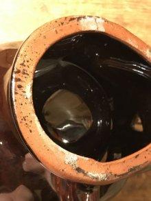 他の写真1: Brown Ceramic Skull Mug スカル ビンテージ マグカップ 50年代 セラミック ヴィンテージ vintage