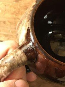 他の写真2: Brown Ceramic Skull Mug スカル ビンテージ マグカップ 50年代 セラミック ヴィンテージ vintage