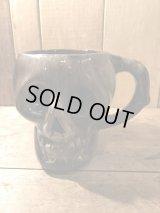Brown Ceramic Skull Mug スカル ビンテージ マグカップ 50年代 セラミック ヴィンテージ vintage