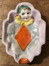 Playing Card Porcelain Lustre Ashtray トランプ柄 ビンテージ アシュトレイ 50年代 灰皿 陶器 ジャパンメイド ヴィンテージ vintage