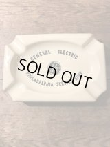 General Electric Service Shop Ashtray ゼネラルエレクトリック ビンテージ アシュトレイ 60年代 灰皿 アドバタイジング 企業物 ヴィンテージ vintage