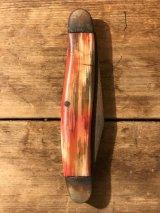 Marble Pocket Knife ポケットナイフ 60年代 マーブル模様 ヴィンテージ vintage