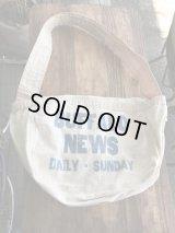 Buffalo News Newspaper Bag ニュースペーパーバッグ 50年代 キャンバス アドバタイジング 古着 ヴィンテージ アンティーク antique vintage