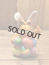 Garfield Easter PVC Figure ガーフィールド ビンテージ PVC フィギュア 90年代