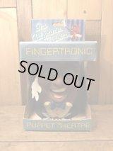 California Raisins Fingertronic Puppet Theatre カリフォルニアレーズンズ ビンテージ パペット ドール 企業キャラクター 80年代