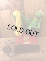 Sesame Street Kermit The Frog Telephone セサミストリート ビンテージ カーミット 電話機 テレフォン 80年代