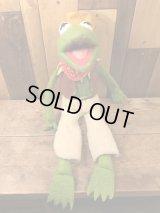Sesame Street Kermit The Frog Plush Doll セサミストリート ビンテージ カーミット プラッシュドール ぬいぐるみ 70年代