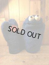 Sesame Street Cookie Monster Puppet Doll セサミストリート ビンテージ クッキーモンスター パペットドール 70年代