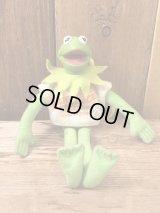 Sesame Street Kermit The Frog Plush Doll Keycain セサミストリート ビンテージ カーミット ドール キーホルダー 90年代