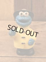 Sesame Street Cookie Monster PVC Figure セサミストリート ビンテージ クッキーモンスター PVCフィギュア 90年代