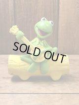 Sesame Street Kermit The Frog Plastic Figure セサミストリート ビンテージ カーミット フィギュア 90年代