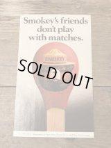Smokey Bear Sticker スモーキーベア ビンテージ ステッカー アドバタイジング 企業キャラクター 80年代