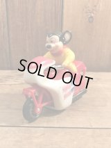 Mighty Mouse Motorcycle Toy マイティマウス ビンテージ バイク トイ 80年代