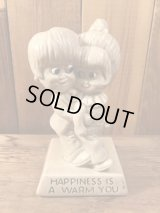 "Sillisculpts ""HAPPINESS IS A WARM YOU""Message Doll メッセージドール ビンテージ シリスカルプス 70年代"