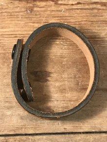 """他の写真1: American Name """"AMY""""Leather Bracelet レザー ビンテージ ブレスレット ヒッピー 70年代"""