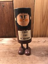 Pride Creations Popsies Wooden Message Toy ポップシーズ ビンテージ プライドクリエーションズ メッセージトイ 60年代