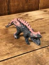 Rubber Jiggler Monster Dinosaur Figure モンスター ビンテージ ラバー トイ 恐竜 80年代