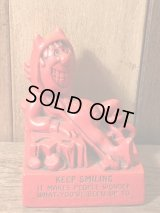 Red Devil Message Doll レッドデビル ビンテージ メッセージドール 60年代