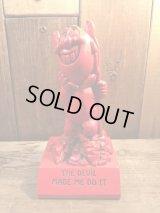 Red Devil Message Doll レッドデビル ビンテージ メッセージドール 70年代