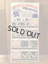 Jokers For Smokers Pin Up Girl Match Display Set ピンナップガール ビンテージ マッチ ディスプレイ 50年代