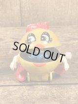 Ms. Pac Man Plastic Wind Up Toy ミスパックマン ビンテージ ワインドアップ トイ トコトコ 80年代