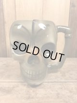 Pirates' House Savannah Ga. Ceramic Skull Mug スカル ビンテージ マグカップ 陶器 髑髏