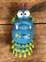 "Germs ""Winkyblinkyigoopiola"" PVC Figure ジャームス ビンテージ PVCフィギュア 細菌 80年代"