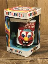 """Marx Marxie """"Tomato Soup"""" Wind-Up Walking Toy マークス ビンテージ ワインドアップ トイ トコトコ人形 60年代"""