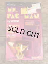 Coleco Ms.Pac-Man PVC Figure Blister Package ミスパックマン ビンテージ PVCフィギュア 80年代