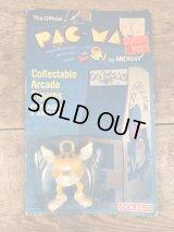 Coleco Pac-Angel PVC Figure Blister Package パックマン ビンテージ PVCフィギュア 80年代