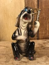 Kreiss Rhinestone Dog Ceramics Figure クレイス社 ビンテージ フィギュア サイコセラミックス 60年代