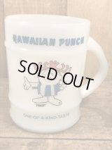 Fire King Hawaiian Punch Ranger Mug ハワイアンパンチ ビンテージ ファイヤーキング バレルマグ アドマグ 70年代