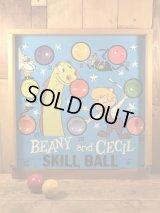 Beany and Cecil Skill Ball Game ビーニーアンドセシル ビンテージ ボールゲーム 60年代