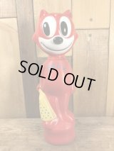 Felix The Cat Red Soaky Figure フィリックス ビンテージ ソーキー シャンプーボトル 60年代