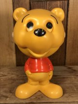 "Mattel Talking ""Winnie-the-Pooh"" Chatter Chums くまのプーさん ビンテージ トーキング フィギュア マテル チャッターチャムス 70年代"