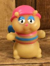 """Playskool Glo Friends """"Glo-Bug"""" Vinyl Finger Puppet グローフレンズ ビンテージ フィンガーパペット グロウワーム フィギュア 80年代"""