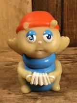 """Hasbro Glo Friends """"Glo-Cricket"""" Vinyl Finger Puppet グローフレンズ ビンテージ フィンガーパペット グロウワーム フィギュア 80年代"""