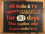 Store of Note Window Cardboard Sign サインボード ビンテージ 注意書き レタリング 70年代