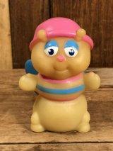 """Hasbro Glo Friends """"Glo-Bug"""" Vinyl Finger Puppet グローフレンズ ビンテージ フィンガーパペット グロウワーム フィギュア 80年代"""