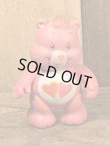 "Kenner Care Bears ""Love-A-Lot Bear"" Poseable Figure ケアベア ビンテージ アクションフィギュア ケナー 80年代"