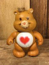 "Kenner Care Bears ""Tenderheart Bear"" Poseable Figure ケアベア ビンテージ アクションフィギュア ケナー 80年代"