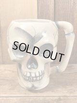 Japan Made Skull Ceramic Mug スカル ビンテージ マグカップ ジャパンメイド 貯金箱 50年代
