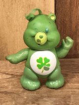 "Kenner Care Bears ""Good Luck Bear"" Poseable Figure ケアベア ビンテージ アクションフィギュア ケナー 80年代"