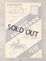 "Floyd Clymer's Historical Motor Scrapbook ""First Edition"" オートモービル ビンテージ 本 モーターサイクル ブック 40年代"