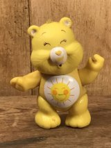 "Kenner Care Bears ""Funshine Bear"" Poseable Figure ケアベア ビンテージ アクションフィギュア ケナー 80年代"