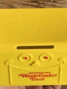 他の写真2: McDonaldland Wastebasket Bank マクドナルドランド ビンテージ 貯金箱 ウェイストバスケット バンク 70年代