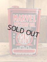 Marvel Mystery Oil Can オイル缶 ビンテージ ガソリン ブリキ 70年代