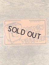 """Kelloggs """"Milton The Toaster"""" Plastic License Plate ケロッグ ビンテージ ライセンスプレート ミルトンザトースター 70年代"""
