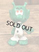 "Astrosniks ""Joker"" Green Color PVC Figure アストロスニック ビンテージ PVCフィギュア スマーフ 80年代"