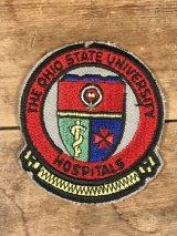 The Ohio State University Hospitals Patch ユニバーシティ ビンテージ ワッペン 大学病院 パッチ 70〜80年代